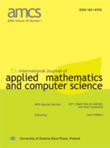 International Journal of Applied Mathematics and Computer Science (AMCS) 2006 Volume 16 Number 1