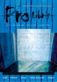 Pro Libris: Lubuskie Pismo Literacko-Kulturalne, nr 2 (2005)