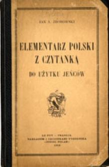 Elementarz polski z czytanką do użytku jeńców