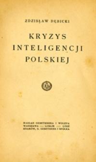 Kryzys inteligencji polskiej