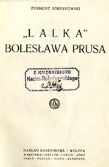 """""""Lalka"""" Bolesława Prusa"""