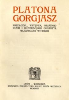 Platona Gorgjasz