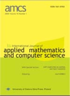 International Journal of Applied Mathematics and Computer Science (AMCS) 2010 Volume 20 Number 1