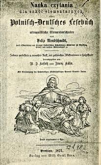 Nauka czytania dla szkół elementarnych, ober polnisch-deutsches Lesebuch : für utraquistische Elementarschulen