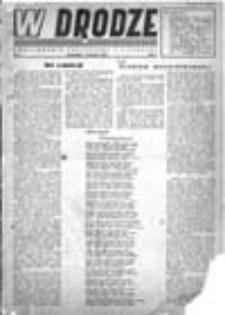 W drodze: dwutygodnik polityczny i literacki, Rok I, Nr 1 (1 kwietnia 1943)