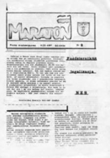 Maraton: Pismo środowiskowe NZS-AWF Gdańsk, nr 2 (październik 1988)