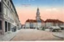 Krosno Odrzańskie / Crossen a.d. O.; Markt; Rynek
