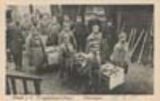 Krosno Odrzańskie / Crossen a / O. Kriegsgefangenenlager; Obóz dla jeńców wojennych; Brotasugabe; Wydawanie chleba