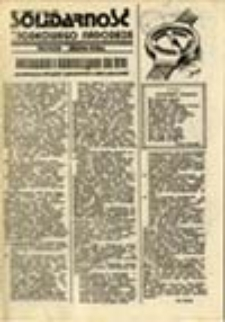 Solidarność Środkowego Nadodrza: Głogów Zielona Góra, 2 kwiecień 1981, nr 3