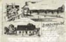 Lubochnia / Benschbude b/ Crossen, Oder; Gruss aus Benschbude b/. Crossen, Oder