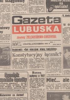 Gazeta Lubuska : dawniej Zielonogórska-Gorzowska R. XLI [właśc. XLII], nr 69 (23 marca 1993). - Wyd. 1