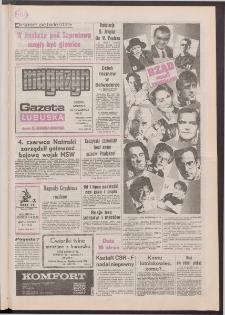 Gazeta Lubuska : magazyn : dawniej Zielonogórska-Gorzowska R. XL [właśc. XLI], nr 138 (13/14 czerwca 1992). - Wyd. 1