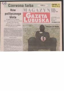 Gazeta Lubuska : magazyn R. XLVI [właśc. XLVII], nr 155 (4/5 lipca 1998). - Wyd 1