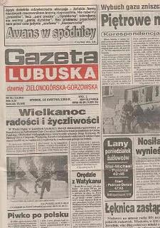 Gazeta Lubuska : dawniej Zielonogórska-Gorzowska R. XLIII [właśc. XLIV], nr 19 (23 stycznia 1995). - Wyd. 1