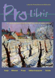 Pro Libris: Lubuskie Pismo Literacko-Kulturalne, nr 1/4 (2015)