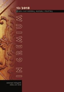 In Gremium : studia nad historią, kulturą i polityką, tom 12 - spis treści