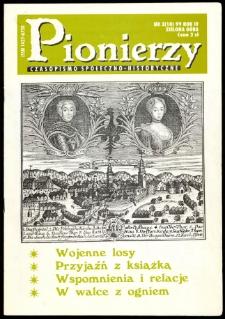 Pionierzy: czasopismo społeczno - historyczne, R. 4, 1999, nr 3 (10)