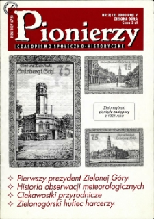 Pionierzy: czasopismo społeczno - historyczne, R. 5, 2000, nr 2 (12)