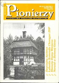 Pionierzy: czasopismo społeczno - historyczne, R. 5, 2000, nr 3 (13)