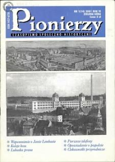 Pionierzy: czasopismo społeczno - historyczne, R. 6, 2001, nr 1 (14)