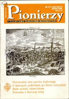 Pionierzy: czasopismo społeczno - historyczne, R. 7, 2002, nr 2 (17)