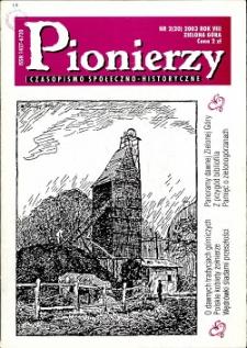Pionierzy: czasopismo społeczno - historyczne, R. 8, 2003, nr 2 (20)