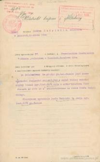 Franciszek Czerniecki - Kontrakt kupna i sprzedaży