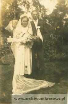 Zofia Czerniecka, córka Andrzeja i Jan Pańczyszyn, syn Piotra - fotografia ślubna