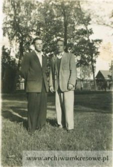 Emil Wilk i Stanisław Bauczyński - fotografia