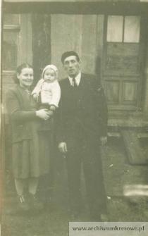 Zofia, Jan i Zdzisław Pańczyszyn - fotografia