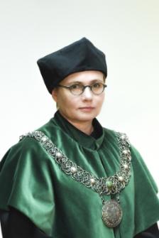 Dziekan Wydziału Budownictwa, Architektury i Inżynierii Środowiska dr hab. inż. Anna Bazan-Krzywoszańska, prof. UZ