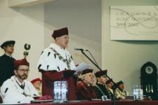 Inauguracja roku akademickiego 2001-2002 Uniwersytetu Zielonogórskiego