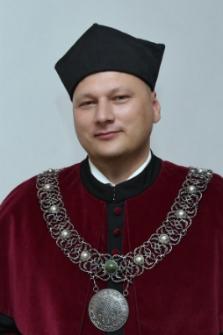 Dziekan Wydziału Pedagogiki, Psychologii i Socjologii dr Jarosław Wagner