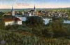 Krosno Odrzańskie / Crossen a.d. O.; Blick v. Wilhelmshöhe