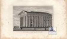 Der Tempel la Maison Quarree in Niemes
